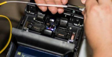 como usar fusionadora de fibra optica